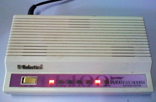 usrobotics sportster 14400 external 14400-front