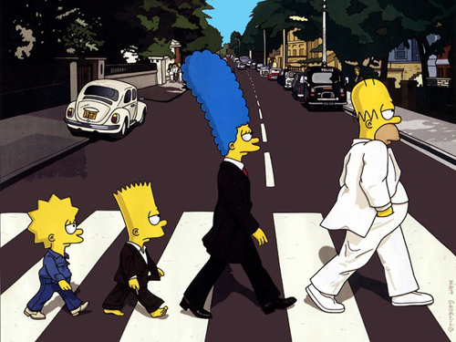simpsons-at-abbey-road
